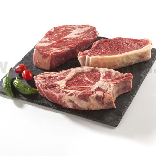 Pack steaks barbacoa